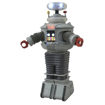 Lost In Space B9 Robot With Electronic Lights & Sound